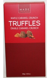 Maple Caramel Crunch Truffles 100g. Box
