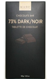 Dark Chocolate Bar 100g. Boxed