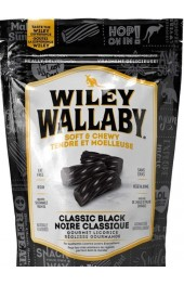 WILEY WALLABY AUSSIE STYLE BLACK LIQUORICE 184G.  12/CS