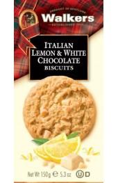 Italian Lemon & White Chocolate Biscuits  150g.