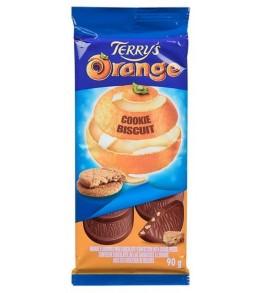 Terry's Orange Cookie Biscuit Bar  90g.