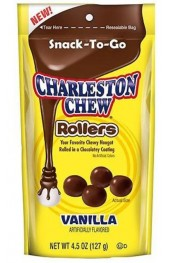 Charleston Chew  Chocolate/Vanilla Nougat  127g.