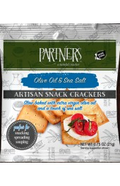 Olive Oil & Sea Salt Snack Pack Crackers  21g.