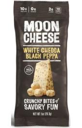Moon Cheese - White Cheddar Black Pepper  28g.