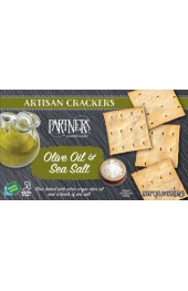 Olive Oil and Sea Salt Hors D'oeuvre Crackers  57g.