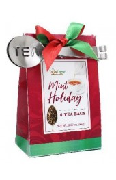 Mint Holiday Tea - 6 Bages w/ Spoon