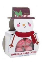 Snowman Holiday Hard Candy   85g.