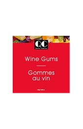 QC Wine Gums 2 Sided Box 140g. Red/White