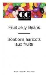 QC Fruit Jelly Beans  125g. Box