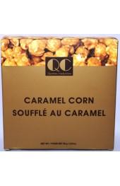 QC Caramel Corn 2 Sided Box 80g. Gold/Brown