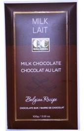 QC Milk Chocolate Bars 100g. Envelope Box