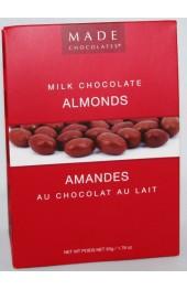 Milk Chocolate Almonds  80g. Tote