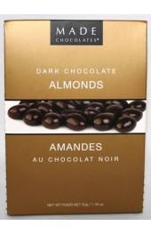 Dark Chocolate Almonds  80g. Tote