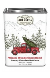 Winter Wonderland Red Truck Cocoa 226g Tin