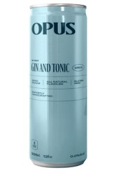 OPS001NA  OPUS NON-ALCOHOL GIN & TONIC  335ML CAN 4/PK