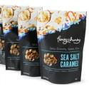 Funky Chunky 5oz.  Sea Salt Caramel Popcorn - Pouch 142g