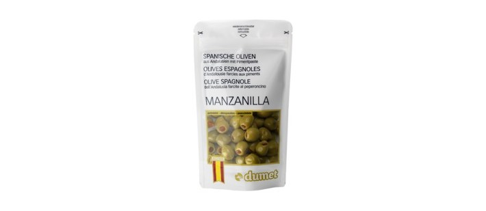Dumet Gourmet Olives - Re-Seal Pouch