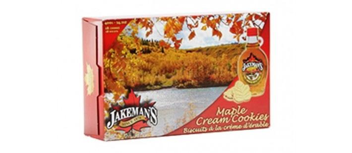 Jakeman's Maple Cream Cookies
